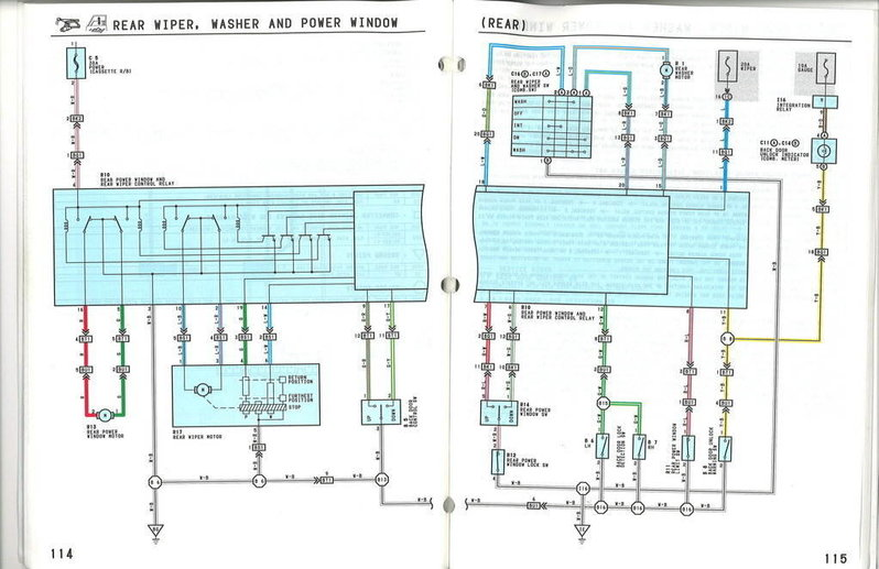 Wiring diagram toyota 4runner forum for 2002 toyota camry power window fuse