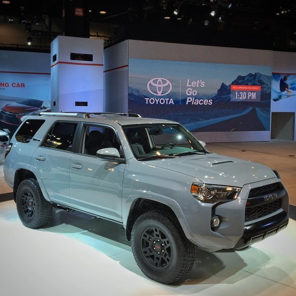 2017 Toyota 4runner Exterior Colors