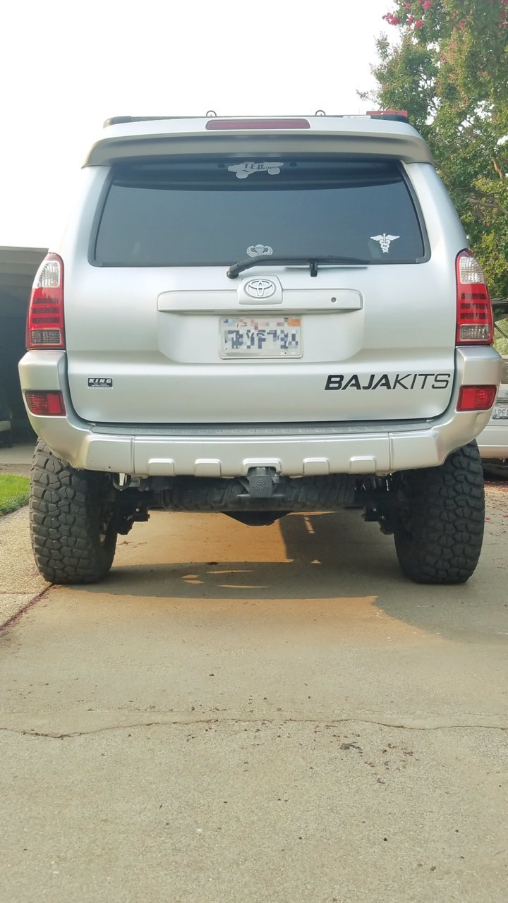 Largest Spare Tire Size Toyota 4runner Forum 4runners Com