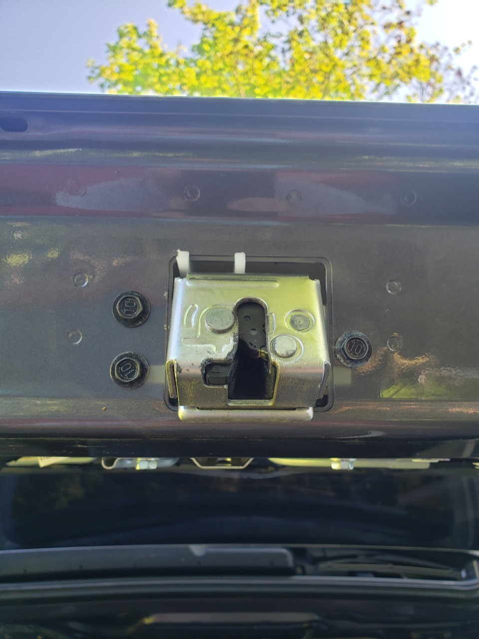 Superfastracing Metal Liftgate Tailgate Rear Back Latch Door Handle Fits Toyota Sequoia /& Sienna
