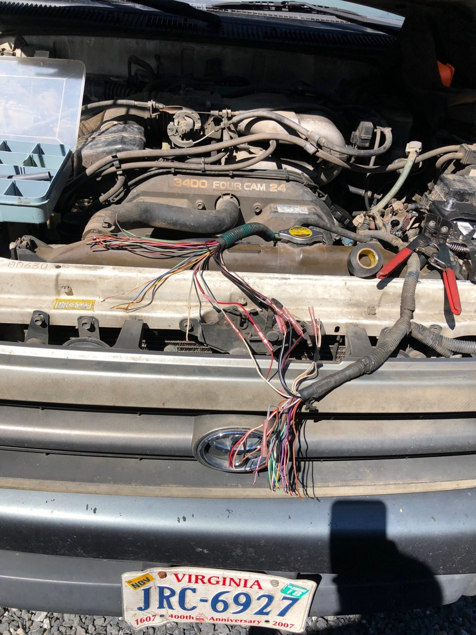 Wire harness ripped in 1/2. | Toyota 4Runner Forum [4Runners.com]4Runners.com