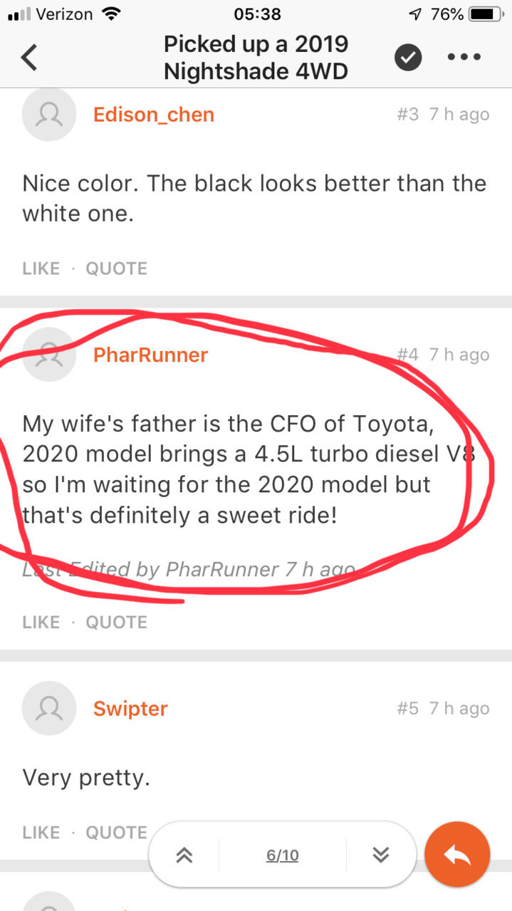2020 may come with a diesel v8 | Toyota 4Runner Forum