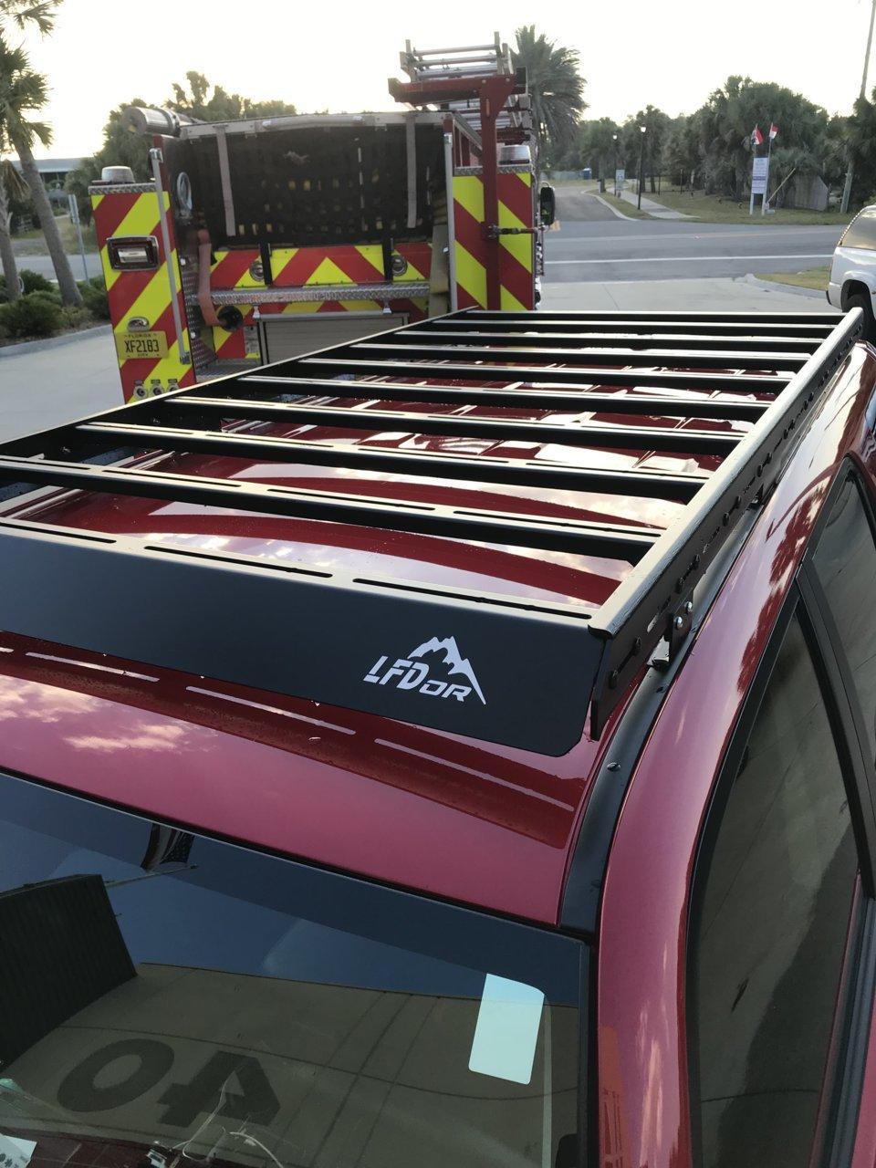 Lfd Full Roof Rack Aluminum Toyota 4runner Forum 4runners Com