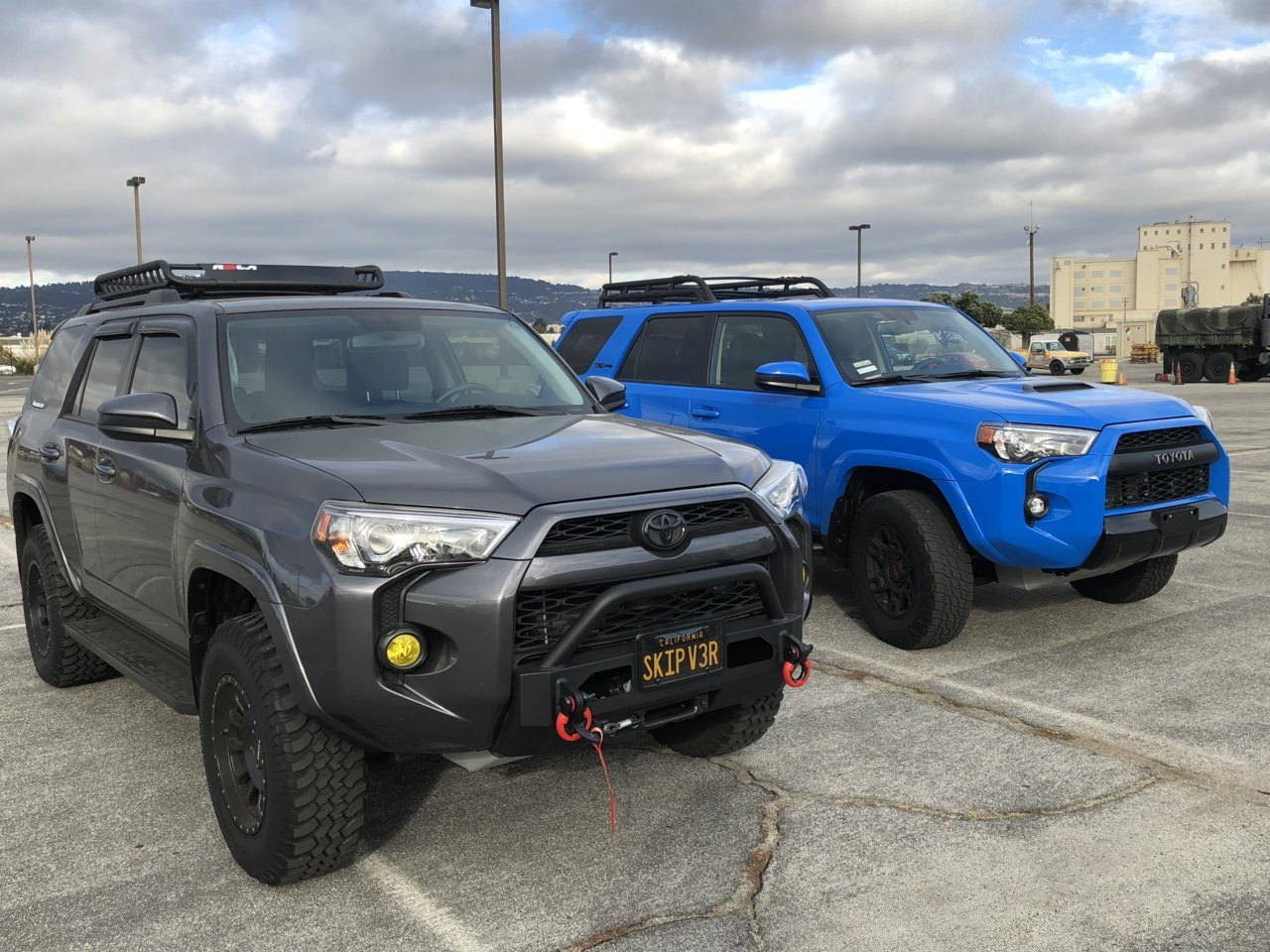Side By Side With 2019 Trd Pro Toyota 4runner Forum 4runners Com