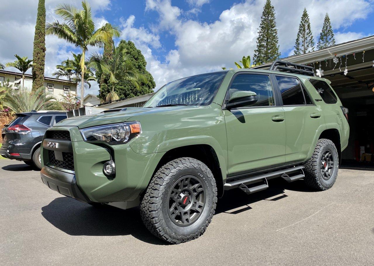 Aloha From Hawaii Army Green Trd Pro Toyota 4runner Forum 4runners Com