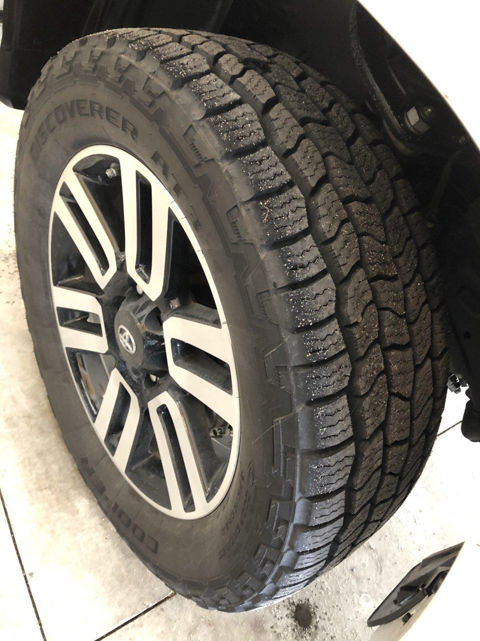 Toyota 4Runner Lifted >> SOLD! Cooper Discoverer AT3 4S | Toyota 4Runner Forum ...