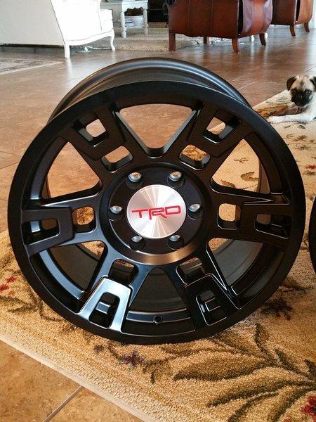TRD Pro Rims? | Toyota 4Runner Forum [4Runners com]