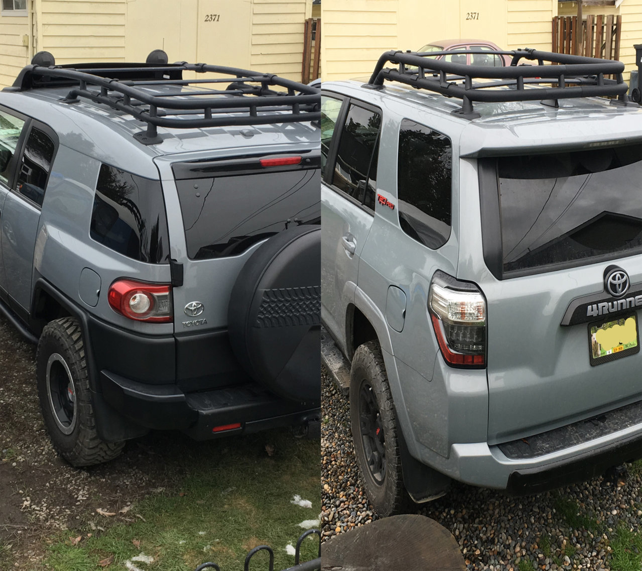 2019 TRD Pro Roof Rack Dimensions