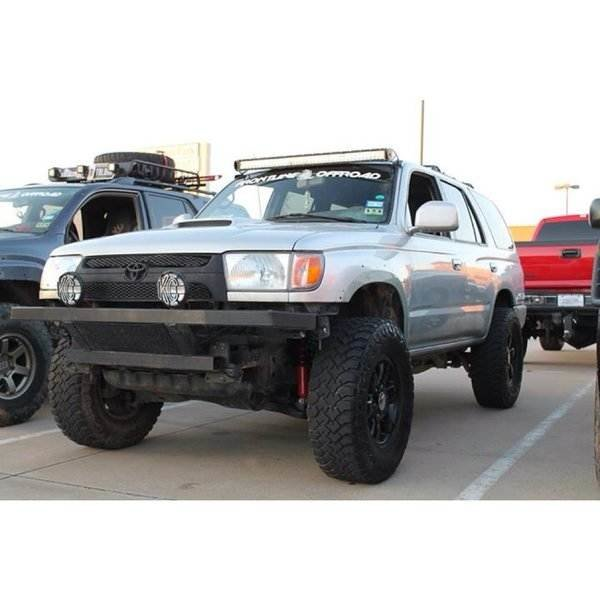 1996 2002 Toyota 4 Runner 42 Curved Led Light Bar Roof Mounts Only Auto Parts And Vehicles Auto Parts Accessories