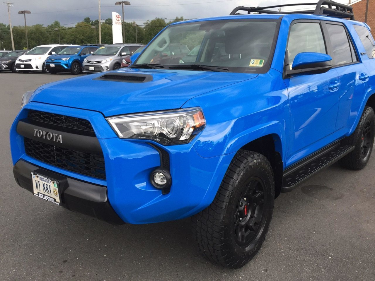 Anyone Order The 2019 Trd Pro In Voodoo Blue Toyota 4runner Forum 4runners Com