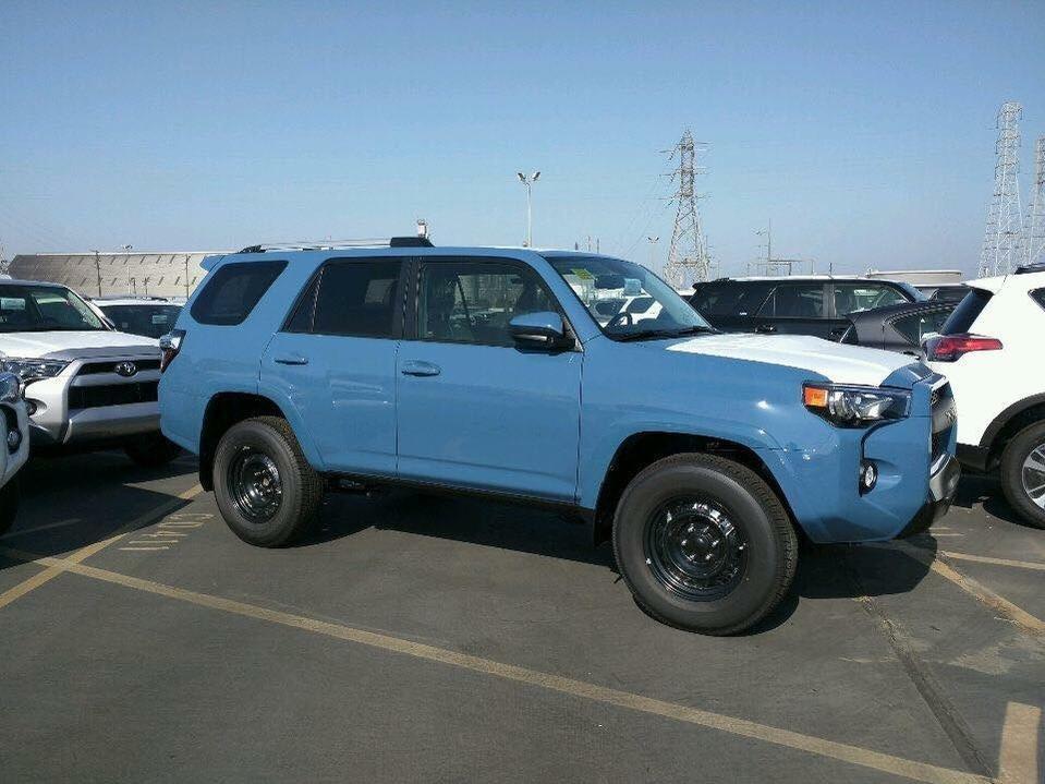 2017 Toyota 4runner Trd Pro For Sale >> 2018 Cavalry Blue | Toyota 4Runner Forum [4Runners.com]