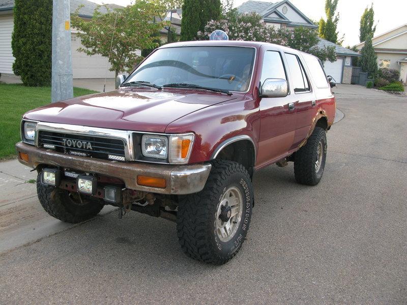 Hello from Alberta! 1990 SR5 V6 | Toyota 4Runner Forum [4Runners com]