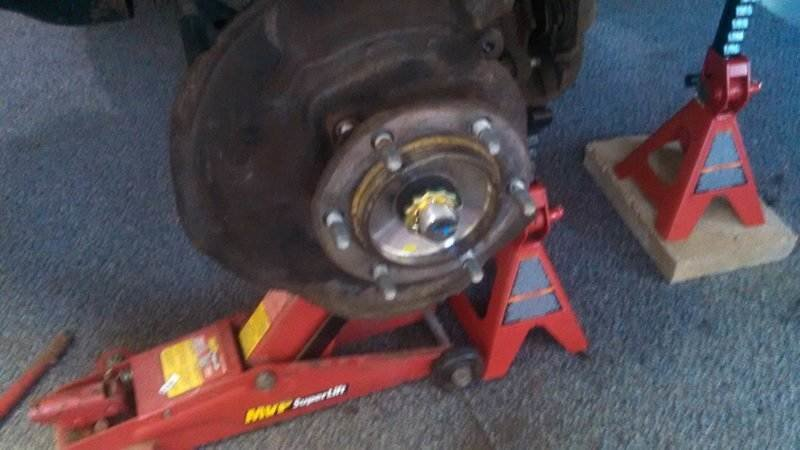 Installing Wheel Bearing Assembly | Toyota 4Runner Forum