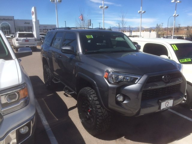 2016 4runner Lifted >> Thinking Of Making A Switch To A 2016 4runner From A 2014 Gmc Sierra