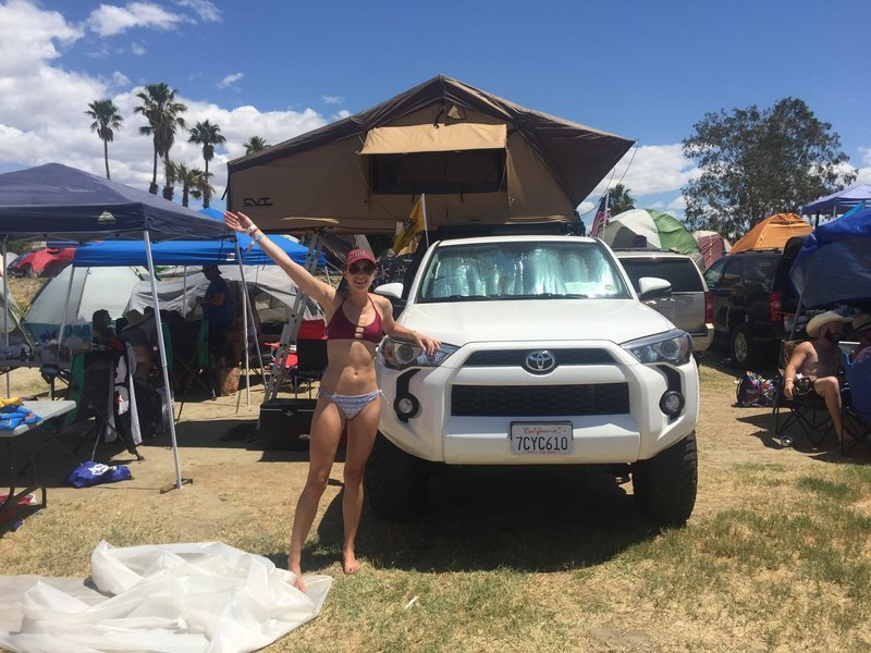 ... 7 tents and 4 cars in a 500 Sq. Ft. Lot to c& there. This year marked exactly 3 and a half years we have been dating so it was even better. & The Mini Fridge Build | Page 3 | Toyota 4Runner Forum [4Runners.com]
