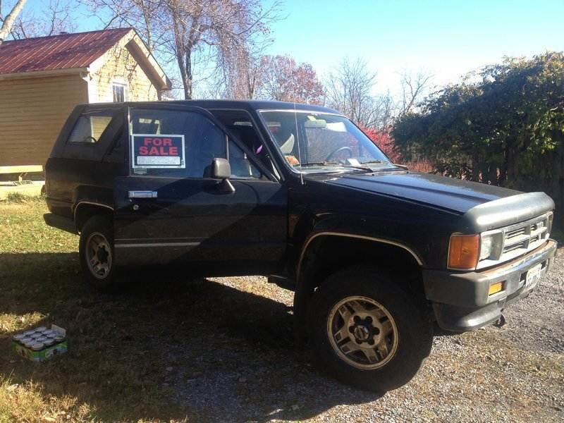 1st gen 1988 4runner for sale abingdon va toyota 4runner. Black Bedroom Furniture Sets. Home Design Ideas